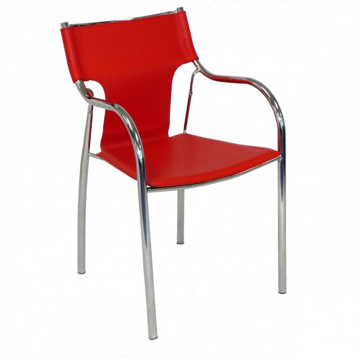 C3113 - Meeting Chair - Bolton - Red