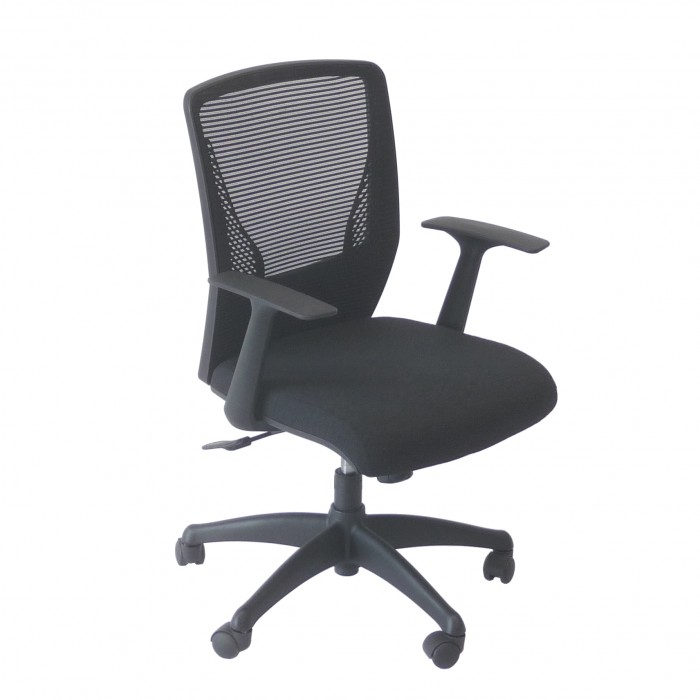 C3130 - Meeting Chair - Stellar - Black