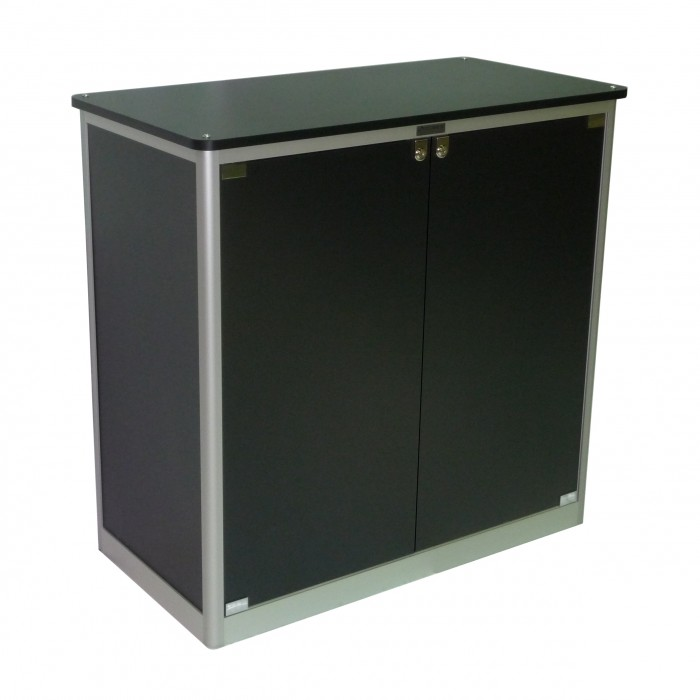 C7211 - Counter - Elite - Black - 2 Doors - 1040x540x1000h