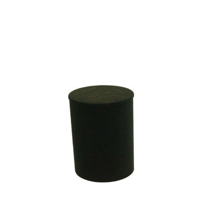 D6010 - Display Plinth - Black - 600h x 430dia