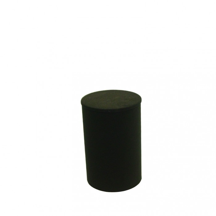 D6011 - Display Plinth - Black - 600h x 370dia