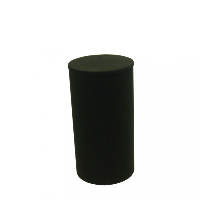 D6012 - Display Plinth - Black - 800h x 430dia