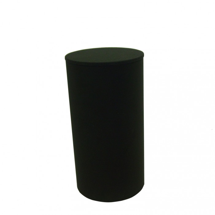 D6013 - Display Plinth - Black - 1000h x 530dia