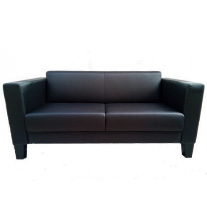 C4023 - 2.5 Seater Sofa - Oasis - Black leatherette