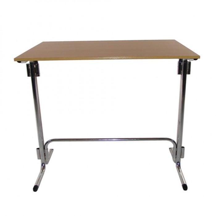 T1007 - Bar Leaner Table - Connecta - Rectangular - Tawa