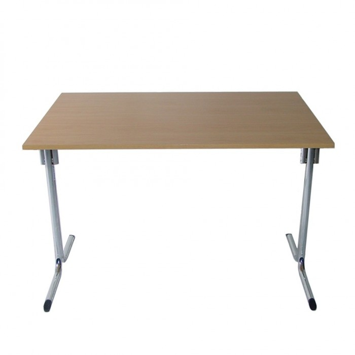 T2507 - Conference Table - Connecta - Rectangular - Tawa