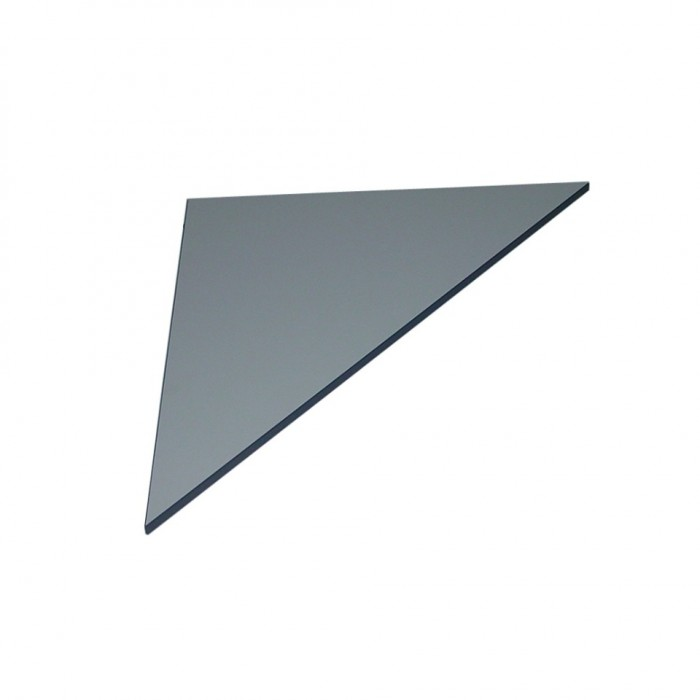 T2508 - Connecta Table Corner Top - Triangular - Grey