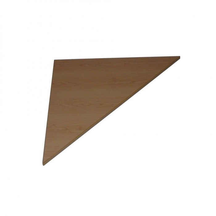 T2509 - Connecta Table Corner Top - Triangular - Tawa